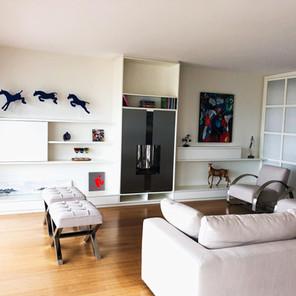 Salon, mobilier sur-mesure