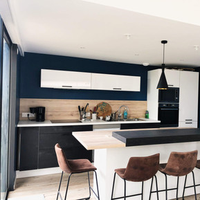 Extension et rénovation complète d'une maison traditionnelle, à Saint-Michel-Chef-Chef