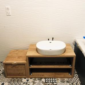 Salle de bain vasque