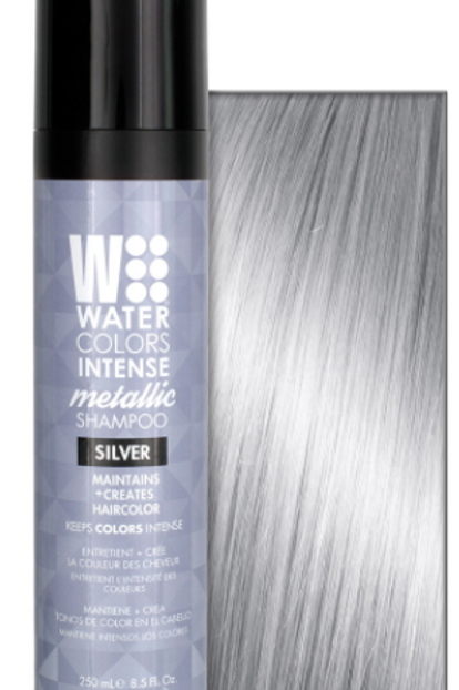 Watercolors Intense Color Shampoo - Silver