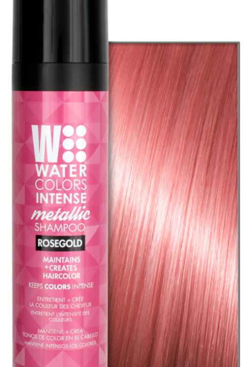 Watercolors Intense Metallic Shampoo - Rosegold