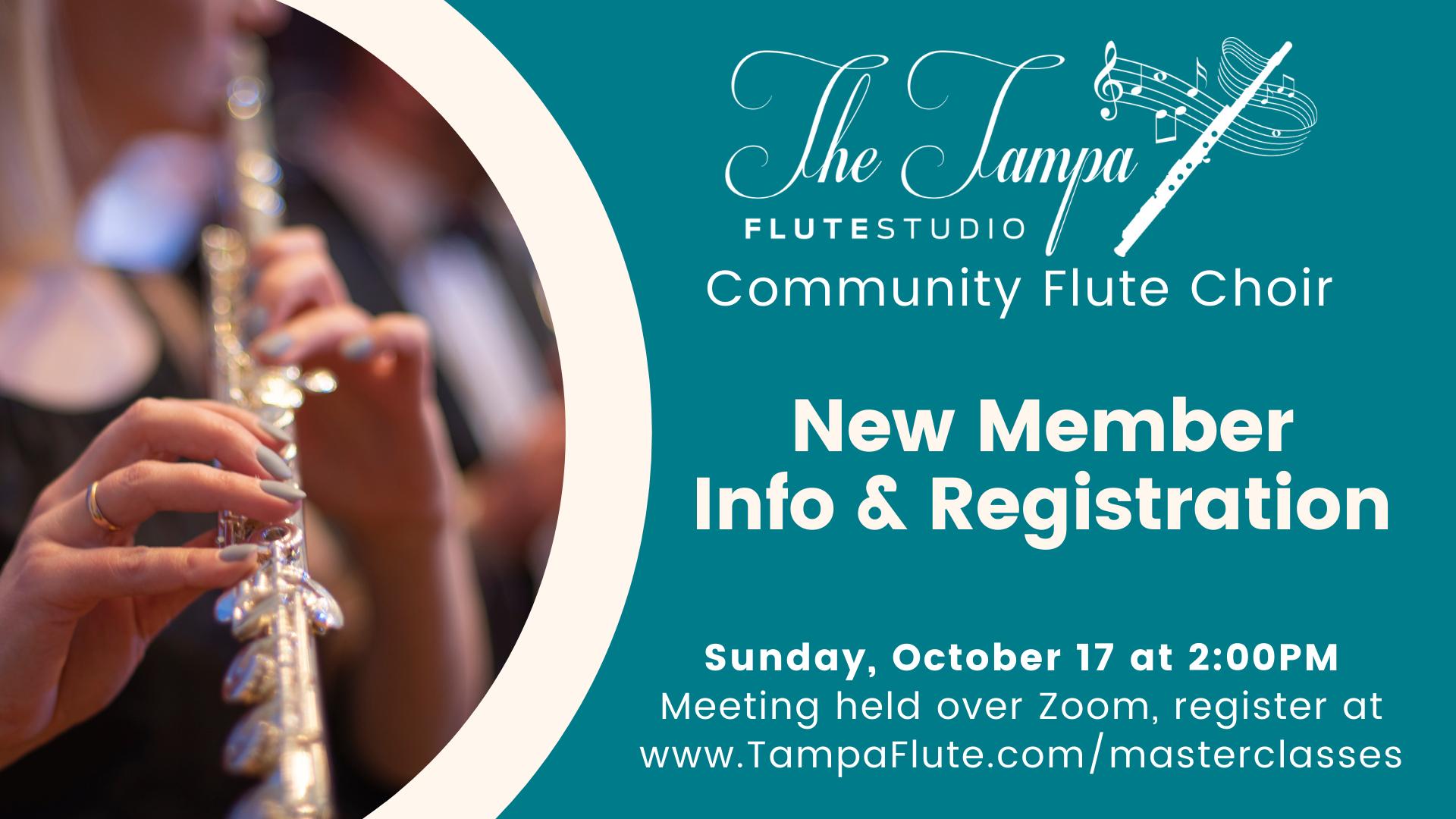 Community Flute Choir Orientation