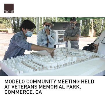 Modelo Community Meeting