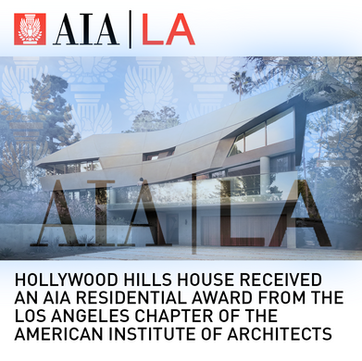 Hollywood Hills House AIA Award