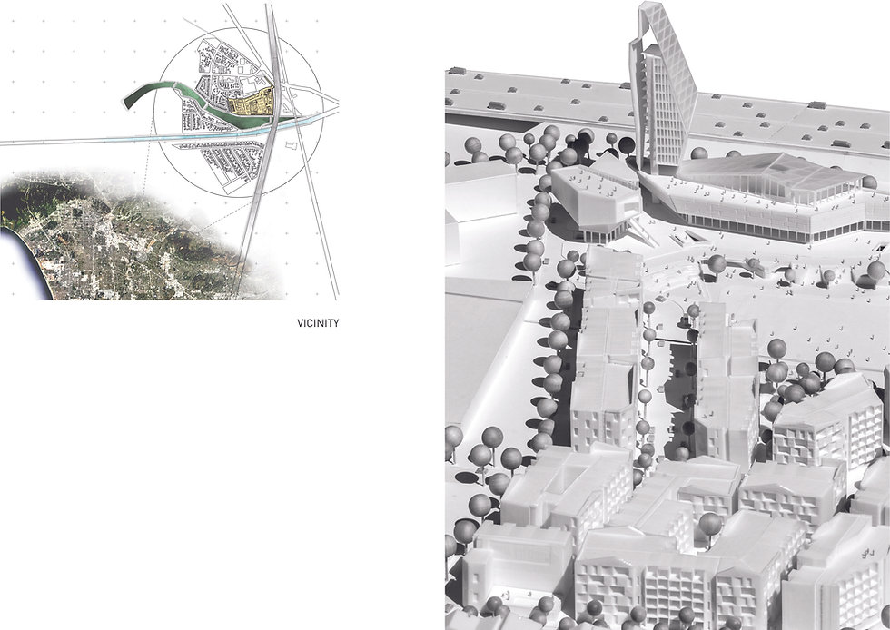 Architecture Informed by Technology Sustainability Innovation, Modelo: 17 Acre Urban Village Mixed-Use Residential / Commercial Development in Commerce by Tighe Architecture