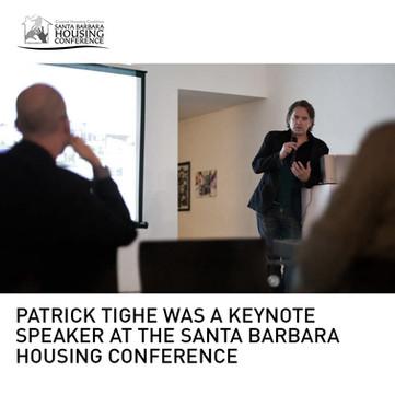 Santa Barbara Housing Conference Tighe Keynote Speaker