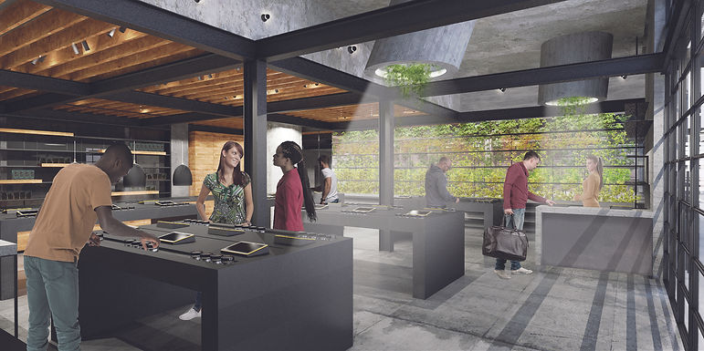 Architecture Informed by Technology Sustainability Innovation, Stanton Cannabis by Tighe Architecture
