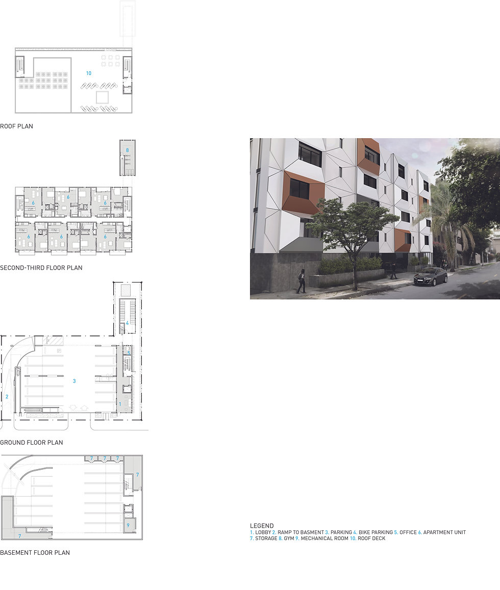 Architecture Informed by Technology Sustainability Innovation, Hudson Apartments in Los Angeles by Tighe Architecture