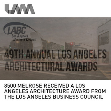 8500 Melrose LA Architectural Award