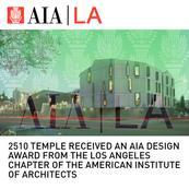 2510 Temple Mixed-Use AIA Award