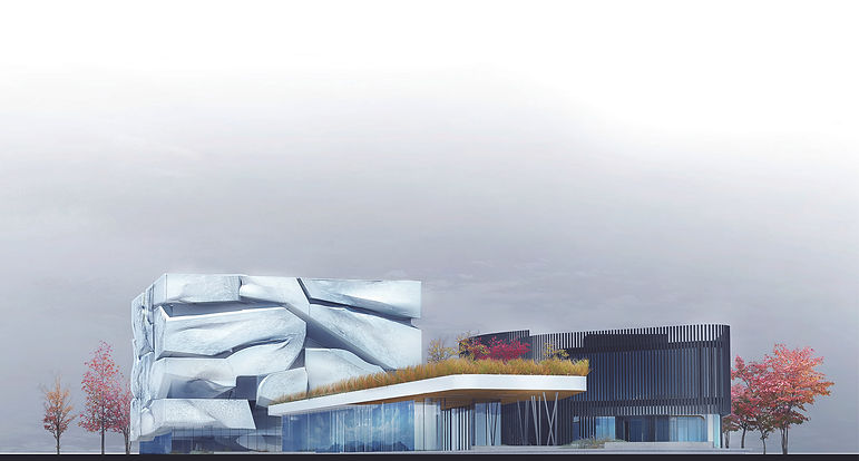 Architecture Informed by Technology Sustainability Innovation, Guggenheim Helsinki in Finland (propsal) by Tighe Architecture