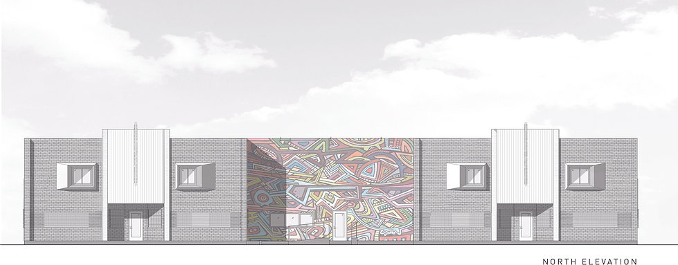 Architecture Informed by Technology Sustainability Innovation, Watts Homeless Access Center in Watts by Tighe Architecture