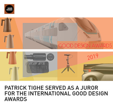Patrick Tighe GOOD Design Awards Juror