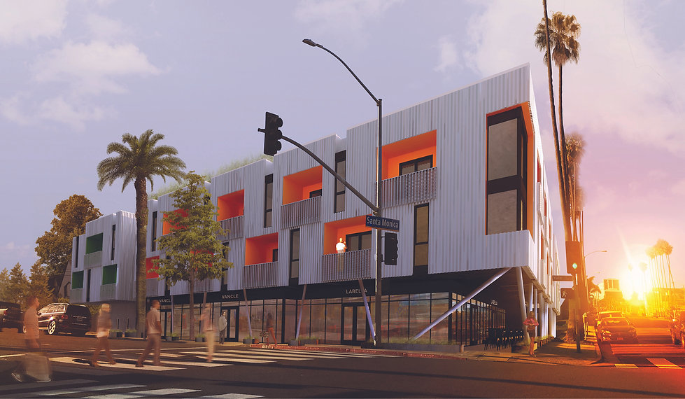 Architecture Informed by Technology Sustainability Innovation, Yale Mixed-Use in Santa Monica by Tighe Architecture