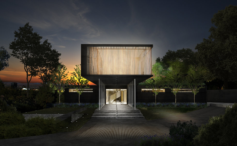 Architecture Informed by Technology Sustainability Innovation, Oakley Drive in Los Angeles by Tighe Architecture