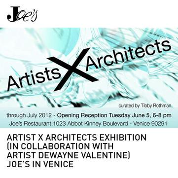 Artist X Architect Exhibition Tighe Valentine