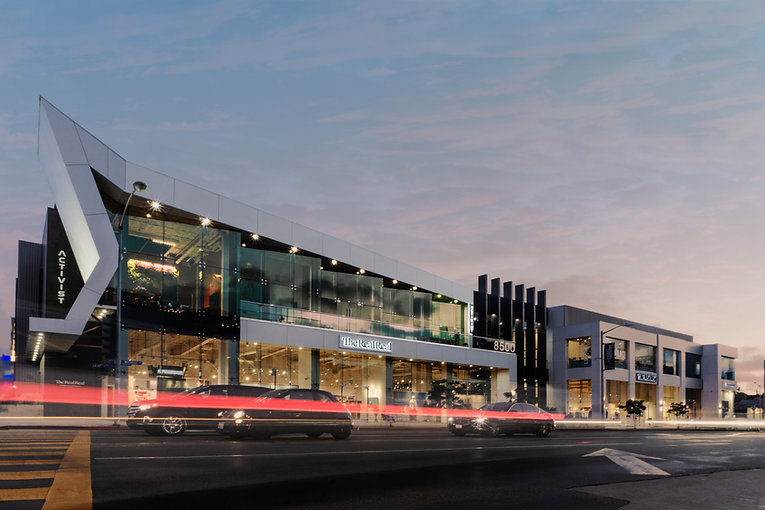 Architecture Informed by Technology Sustainability Innovation, Iconic 8500 Melrose in West Hollywood by Tighe Architecture