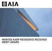 Montee Karp Residence AIA Award