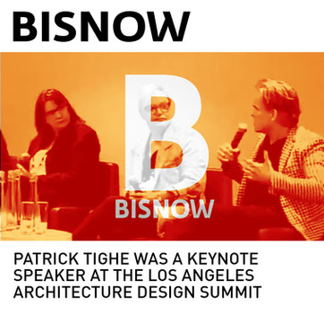 Patrick Tighe Keynote Speaker Los Angeles Design Summit Bisnow