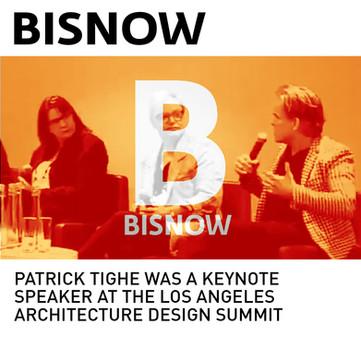 Patrick Tighe Design Summit Keynote Speaker Bisnow