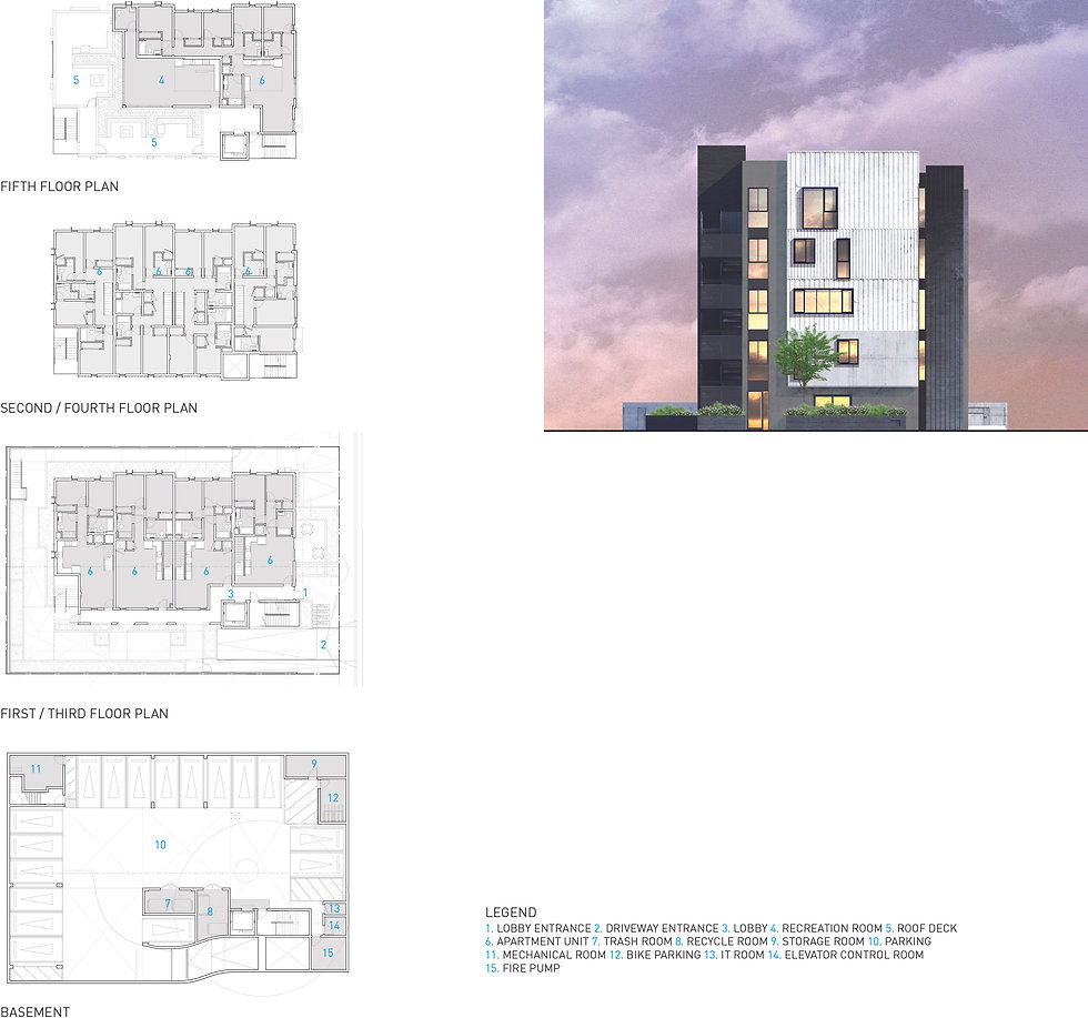 Architecture Informed by Technology Sustainability Innovation, Cleveland Co-Living in Los Angeles by Tighe Architecture