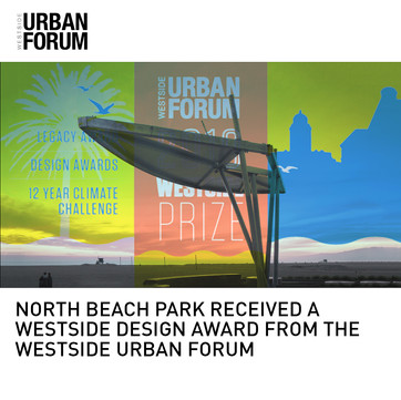 North Beach Park Westside Urban Forum Award
