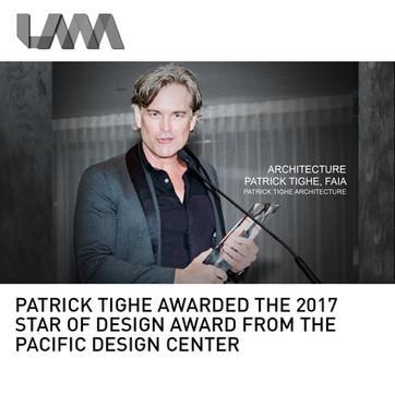 Patrick Tighe Star of Design Award PDC