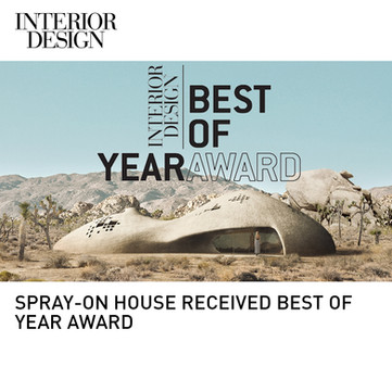 Spray on House Interior Design Best of Year Award