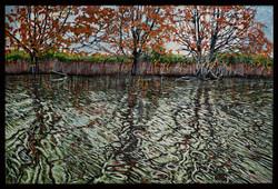 Ayres Creek 24x36 oil on canvas