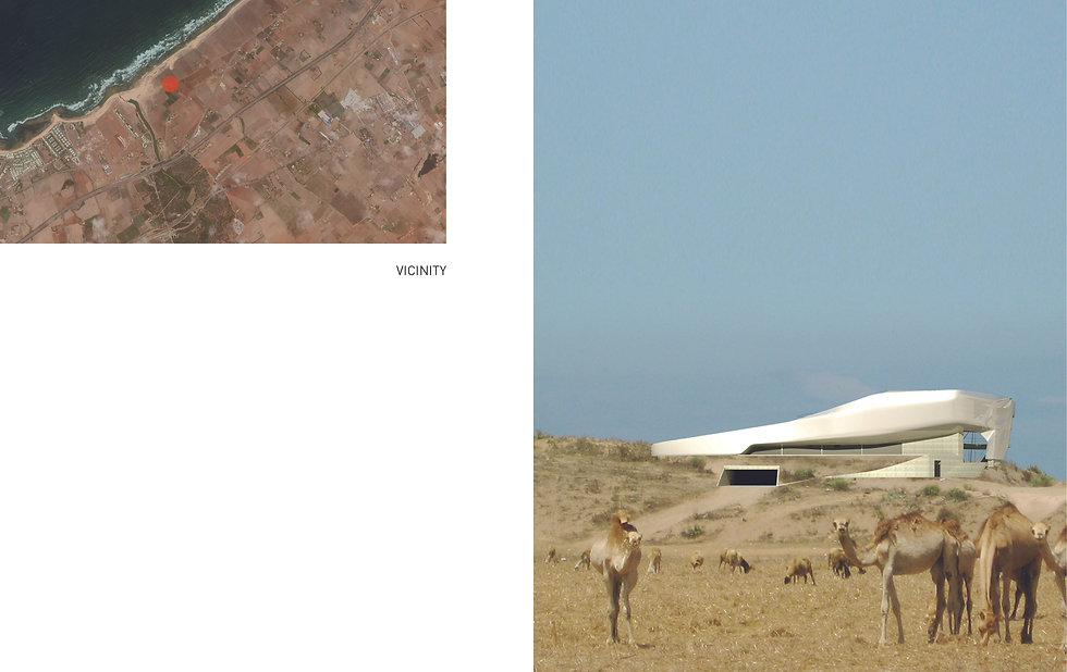 Architecture Informed by Technology Sustainability Innovation, Villa Skhirat (propsal) in Morocco by Tighe Architecture