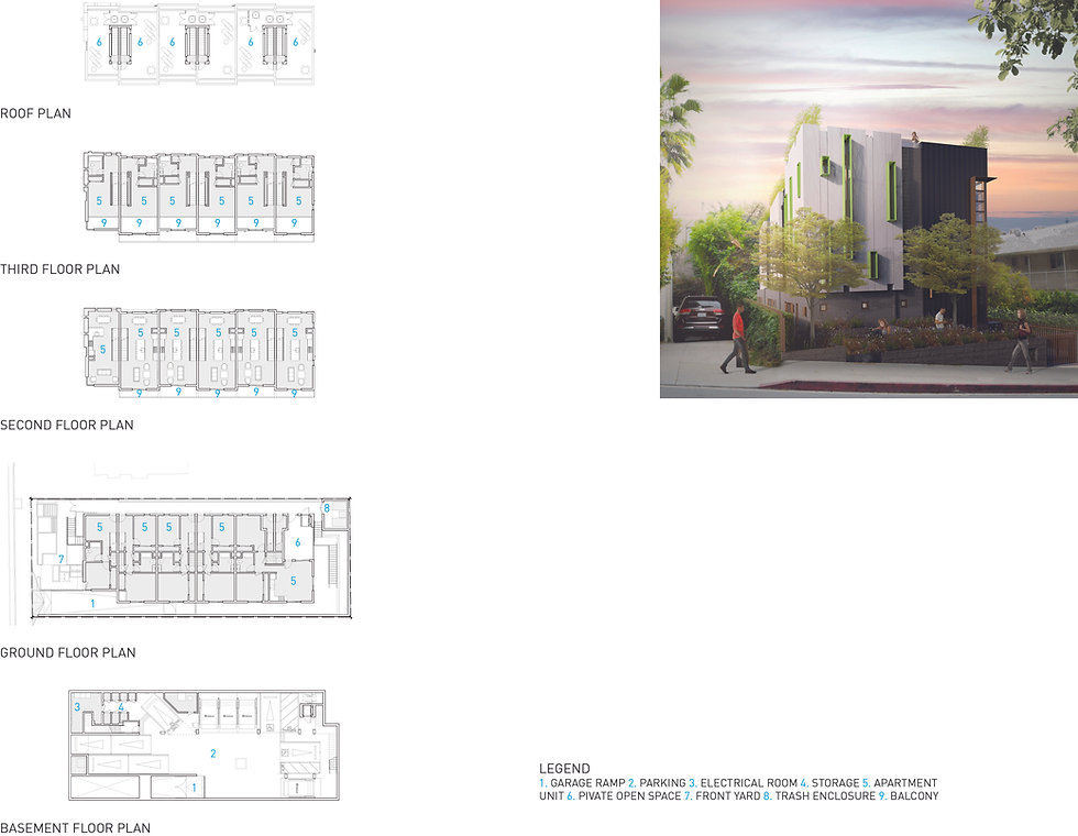 Architecture Informed by Technology Sustainability Innovation, Clark Apartments in West Hollywood by Tighe Architecture