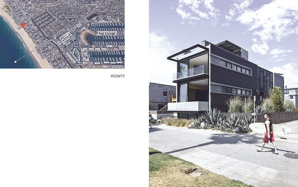 Architecture Informed by Technology Sustainability Innovation, Ocean Front Walk in Venice Beach by Tighe Architecture