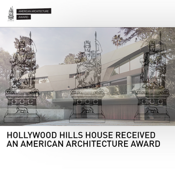 Hollywood Hills House American Architecture Award