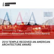 2510 Temple American Architecture Award