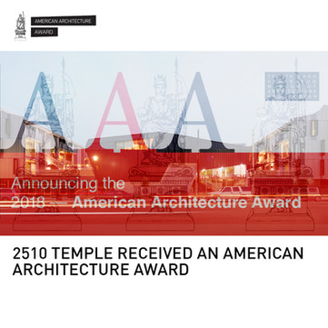 2510 Temple Mixed-Use American Architecture Award