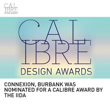 Burbank Connexion Calibre Award