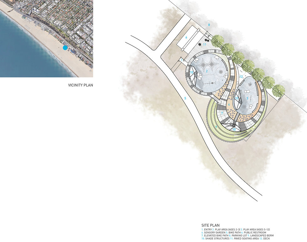 Architecture Informed by Technology Sustainability Innovation, North Beach Universally Accessible Park in Santa Monica by Tighe Architecture