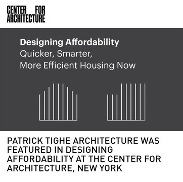Tighe Architecture Designing Affordability Exhibition New York