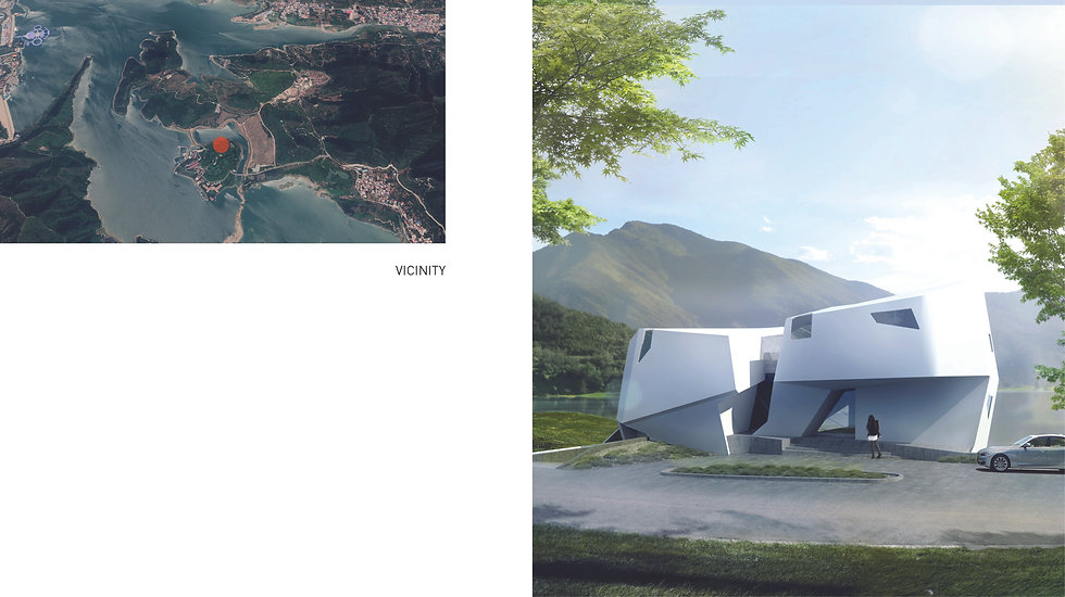 Architecture Informed by Technology Sustainability Innovation, Twin Villa (propsal) in China by Tighe Architecture