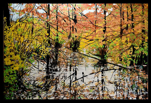 Bald Cypress 24x36 oil on canvas SOLD (1