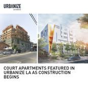 Court Apartments Under Construction
