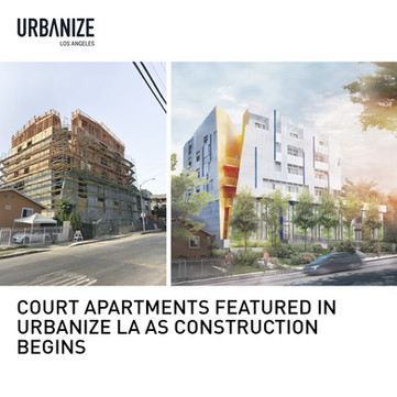Court Apartments Under Construction
