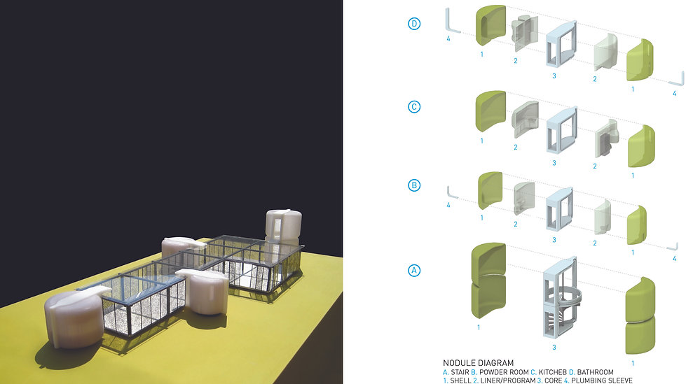 Architecture Informed by Technology Sustainability Innovation, Nodular House Modular Design by Tighe Architecture