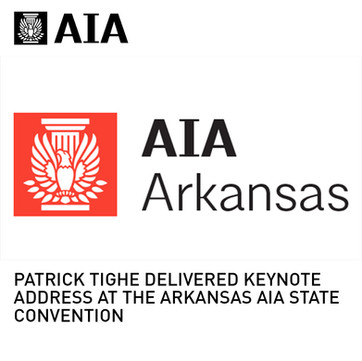 AIA Arkansas State Convention Keynote Speaker Tighe