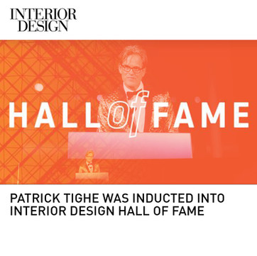 Patrick Tighe Interior Design Magazine Hall of Fame