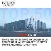 Tighe Architecture Top 50 Firms Power Grid