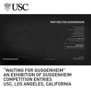 Waiting for Guggenheim Exhibition USC