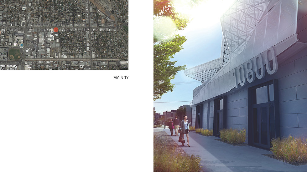 Architecture Informed by Technology Sustainability Innovation, North Hollywood Live-Work by Tighe Architecture
