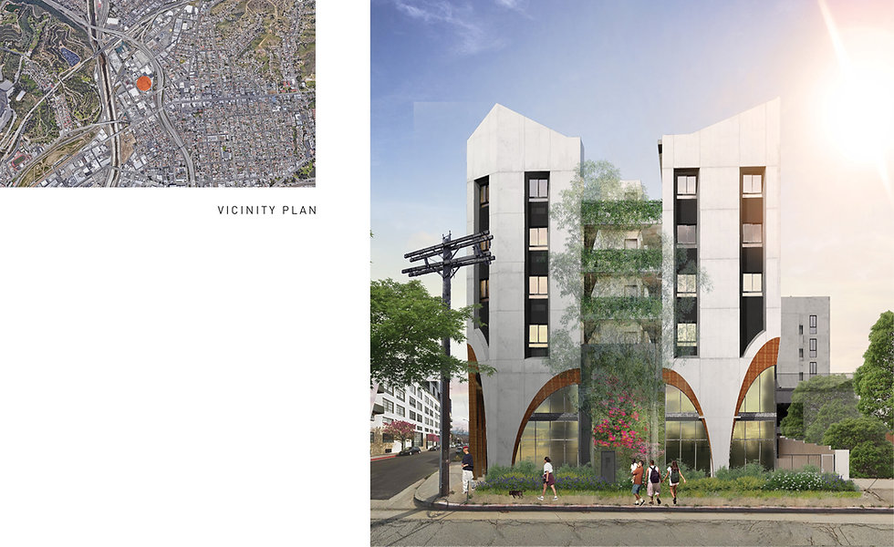 Architecture Informed by Technology Sustainability Innovation, Barranca Hotel / Mixed-Use in the Cornfield Arroyo Seco Specific Plan of Los Angeles by Tighe Architecture
