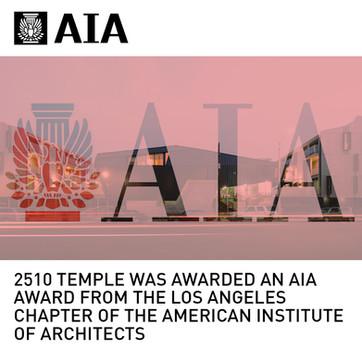 2510 Temple AIA Award